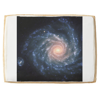Spiral galaxy NGC 1232 Jumbo Shortbread Cookie