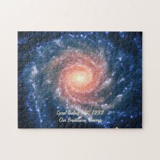 Spiral Galaxy NGC 1232 - Our Breathtaking Universe Puzzle