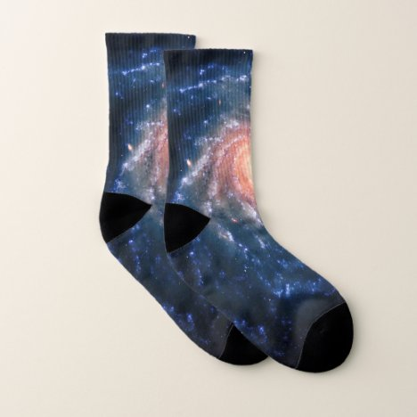 Spiral Galaxy NGC 1232 - Our Breathtaking Universe Socks