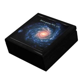 Spiral galaxy NGC 1232 - Trinkets and Treasures Gift Box