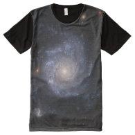 Spiral Galaxy (NGC 1309) All-Over Print T-shirt
