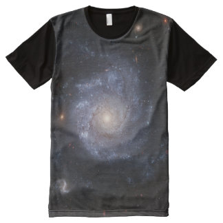 Spiral Galaxy (NGC 1309) All-Over Print T-shirt
