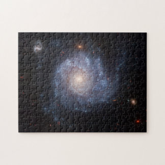 Spiral Galaxy (NGC 1309) Puzzle