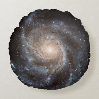Spiral Galaxy (NGC 1309) Round Pillow