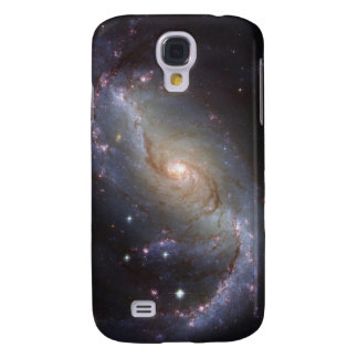 Spiral Galaxy NGC 1672 by the Hubble Telescope Galaxy S4 Case