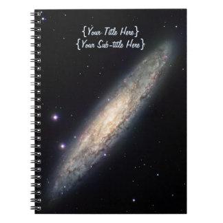 Spiral Galaxy - NGC 253 Spiral Notebook