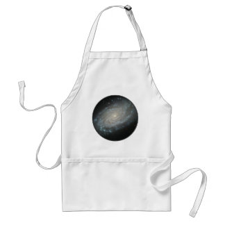 Spiral Galaxy NGC 3370 Adult Apron