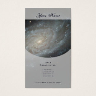 Spiral Galaxy NGC 3370 Business Card