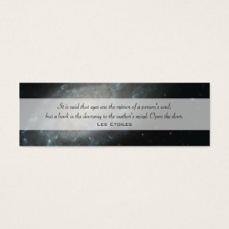 Spiral Galaxy NGC 3370 Mini Business Card