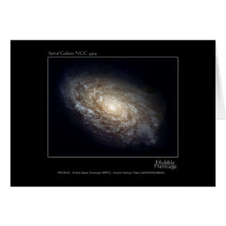 Spiral Galaxy NGC 4414 Hubble Telescope Photo Cards