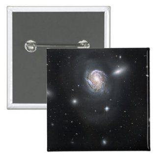 Spiral galaxy NGC 4911 Button