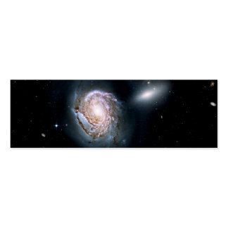 Spiral Galaxy NGC 4911 in the Coma Cluster Business Cards