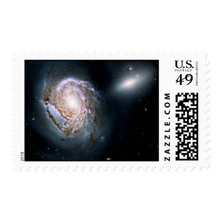 Spiral Galaxy NGC 4911 in the Coma Cluster Postage Stamps