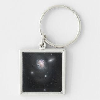 Spiral galaxy NGC 4911 Keychain