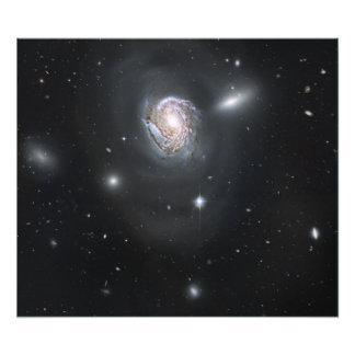 Spiral galaxy NGC 4911 Photo