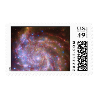 Spiral Galaxy Postage Stamps
