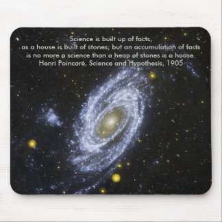 Spiral Galaxy, Science is built up of facts. Mouse Pad