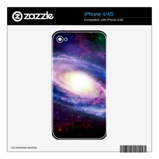 Spiral galaxy skin for iPhone 4S