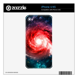 Spiral galaxy skin for the iPhone 4S