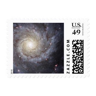 Spiral Galaxy Space Stamp