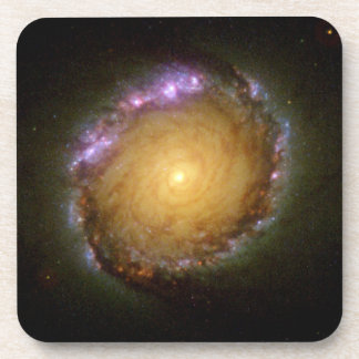 Spiral Galaxy's Living Color Beverage Coaster