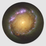 Spiral Galaxy's Living Color Sticker