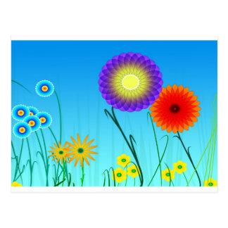 Spiral Garden Postcard