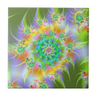 Spiral Garden tile