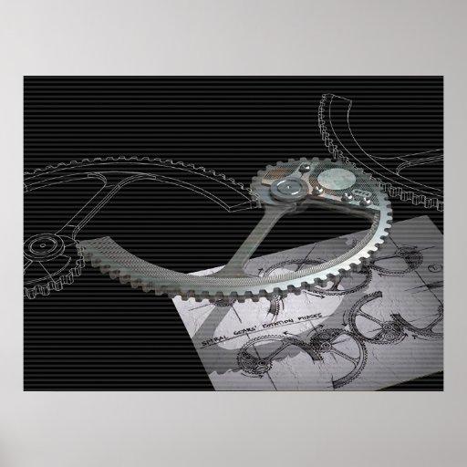 Spiral Gears Print