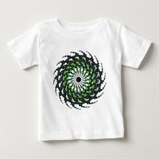 SPIRAL GREEN BABY T-Shirt