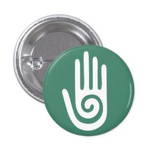 Spiral Hand healing hands Pinback Button