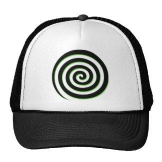 Spiral Mesh Hat