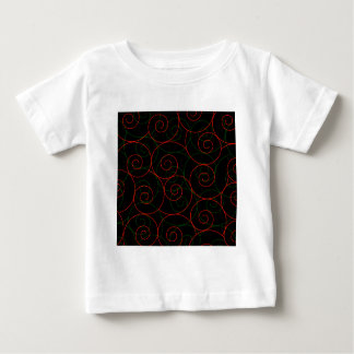 Spiral helix background tshirts