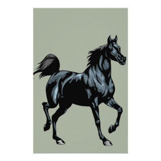 Spiral Horse Notebook Stationery