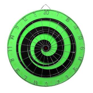 Spiral Hypnotic Green Wheel Regulation Dart Boards