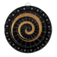 Spiral Hypnotic Wheel Custom Dart Board