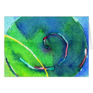 Spiral I Card