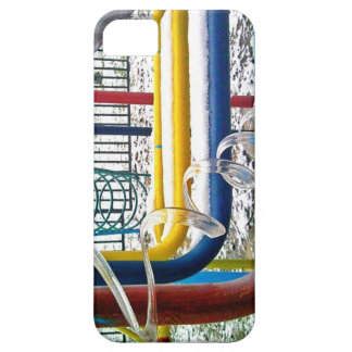Spiral Icicle & Colorful Jungle Gym iPhone SE/5/5s Case