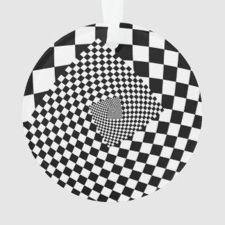 Spiral illusion pattern optical background design ornament