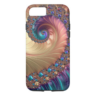 Spiral In Pastels iPhone 8/7 Case