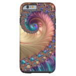 Spiral In Pastels Tough iPhone 6 Case