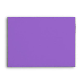 Spiral in Purple Brushed Metal Texture Print Envelope