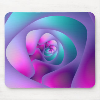 Spiral Labyrinth Mousepad