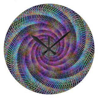 Spiral Large Clock