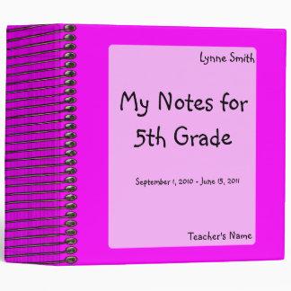 Spiral Look Notebook Binder