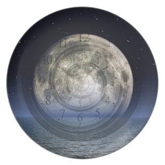 Spiral Moon Plate