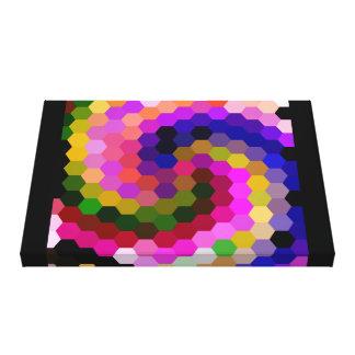 Spiral Mosaic 1 Canvas Print