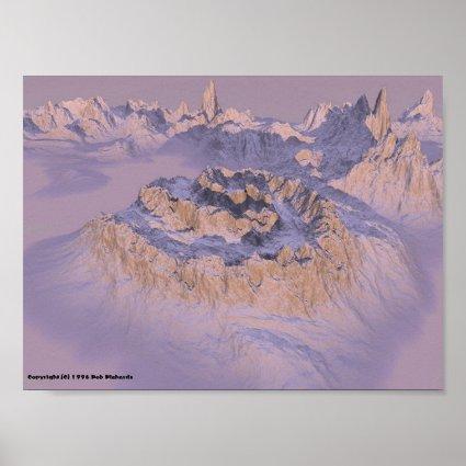 Spiral Mountain Print
