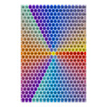 Spiral Multiplication Table - Triangle Print
