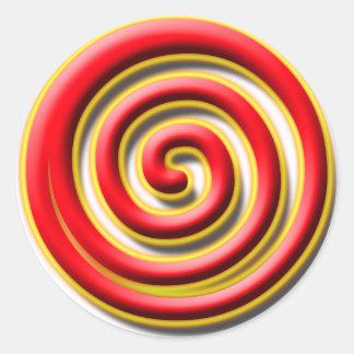 Spiral No. 1 Sticker